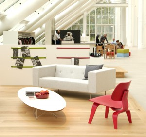 Mexx office lounch couch and work place