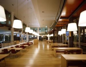 Restaurant area of Axa Verzekeringen