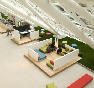 Lounge area Mexx office
